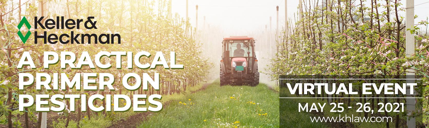 2021 Spring Practical Primer on Pesticides Banner