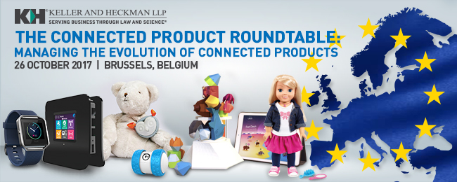 Banner for Connected Product Roundtable