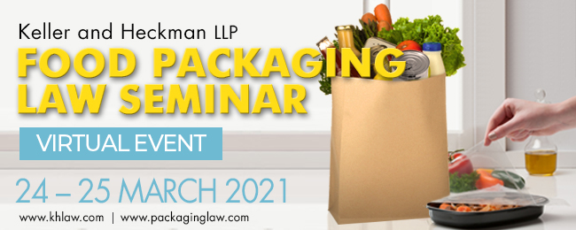 Banner for Food Packaging Law Seminar