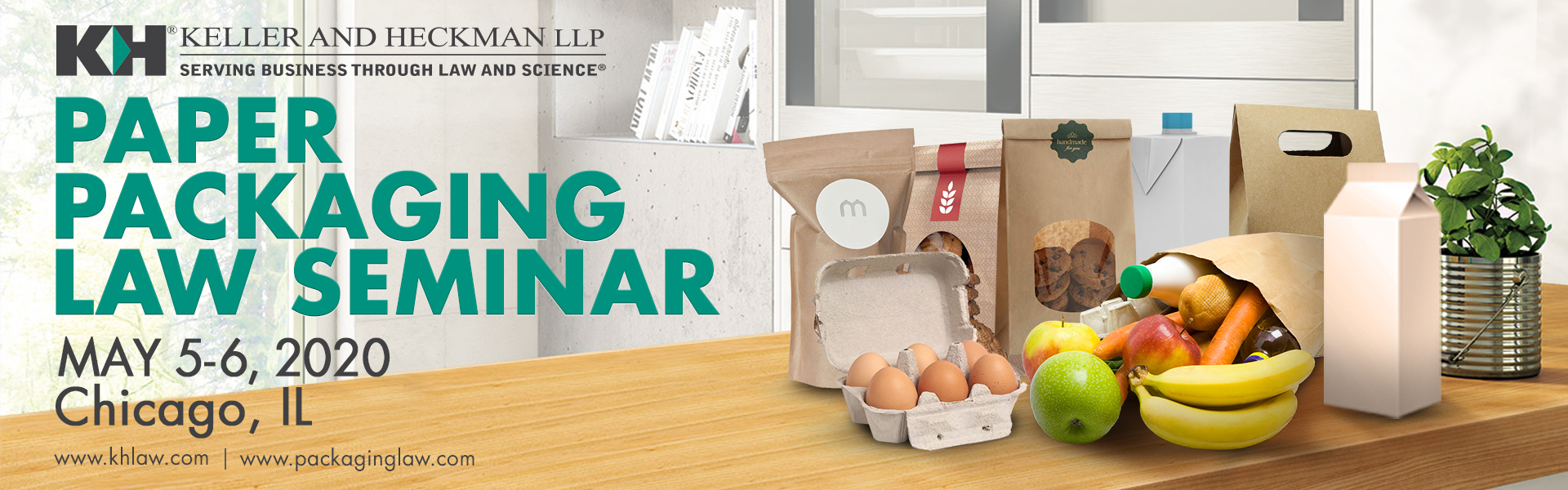 Banner for Paper Packing Law Seminar