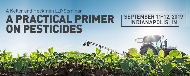 Banner for A Practical Primer on Pesticides event